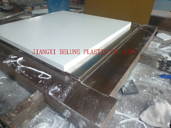 Pure PTFE Sheet Plates - Beluns molded PTFE Processing