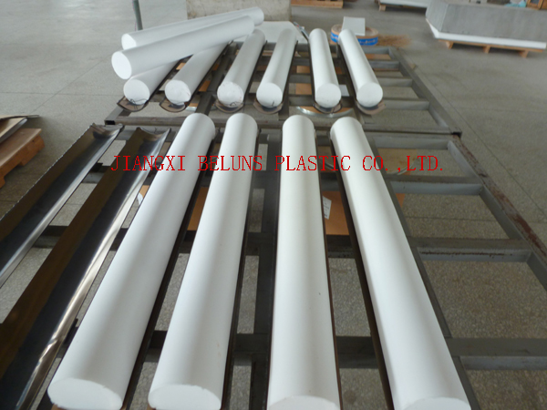 Molded PTFE Rod - 1M Length